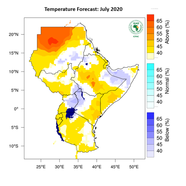 Temperature forecast