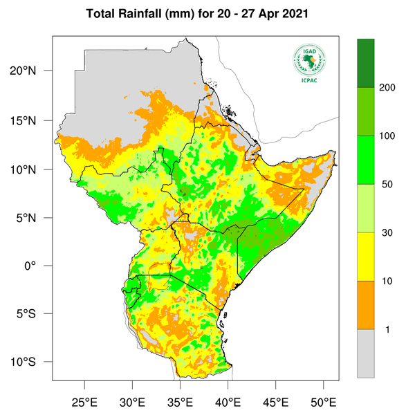 Rainfall forecast